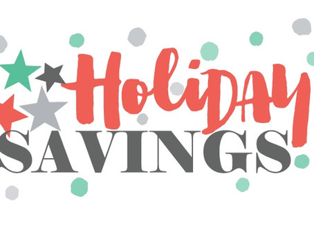 4 Holiday savings tips!