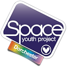 Begin image, The Dorchester Group logo: similar to the SYP logo, but with a plain indigo background. End image.