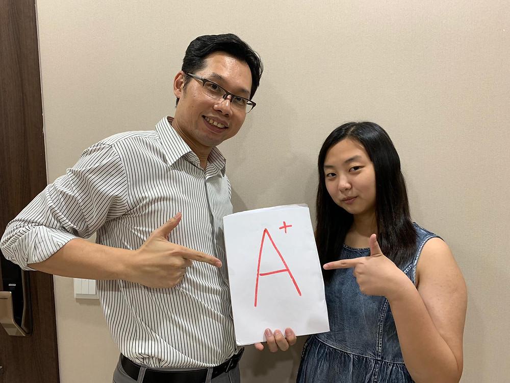 Principal and A+ Student
