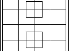 How many squares can you find?