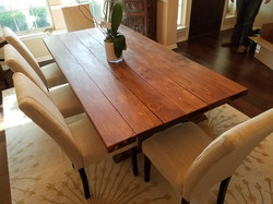 Thick Plank Dining Table