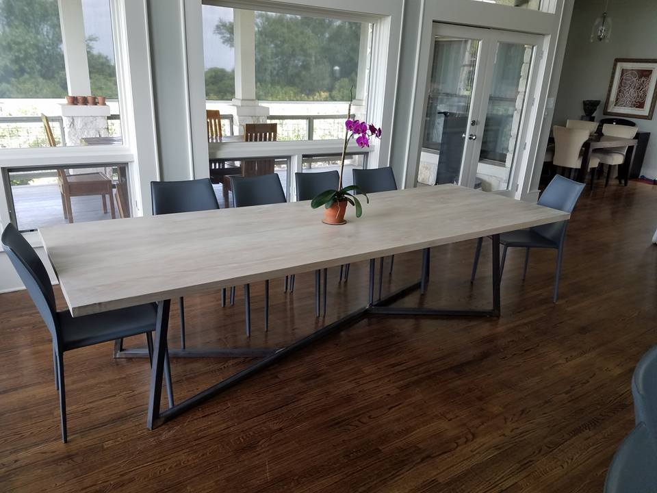 10' Red Oak Table