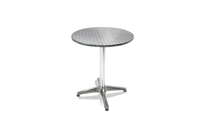 Mesa de Aluminio Redonda Safanelli
