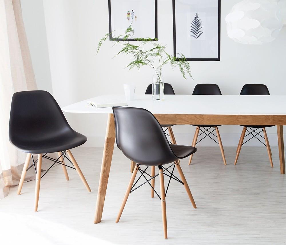 Cadeira luxo preta Safanelli