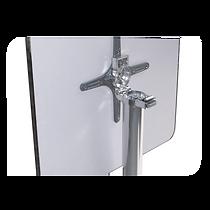 Mesa de Aluminio Quadrada Safanelli