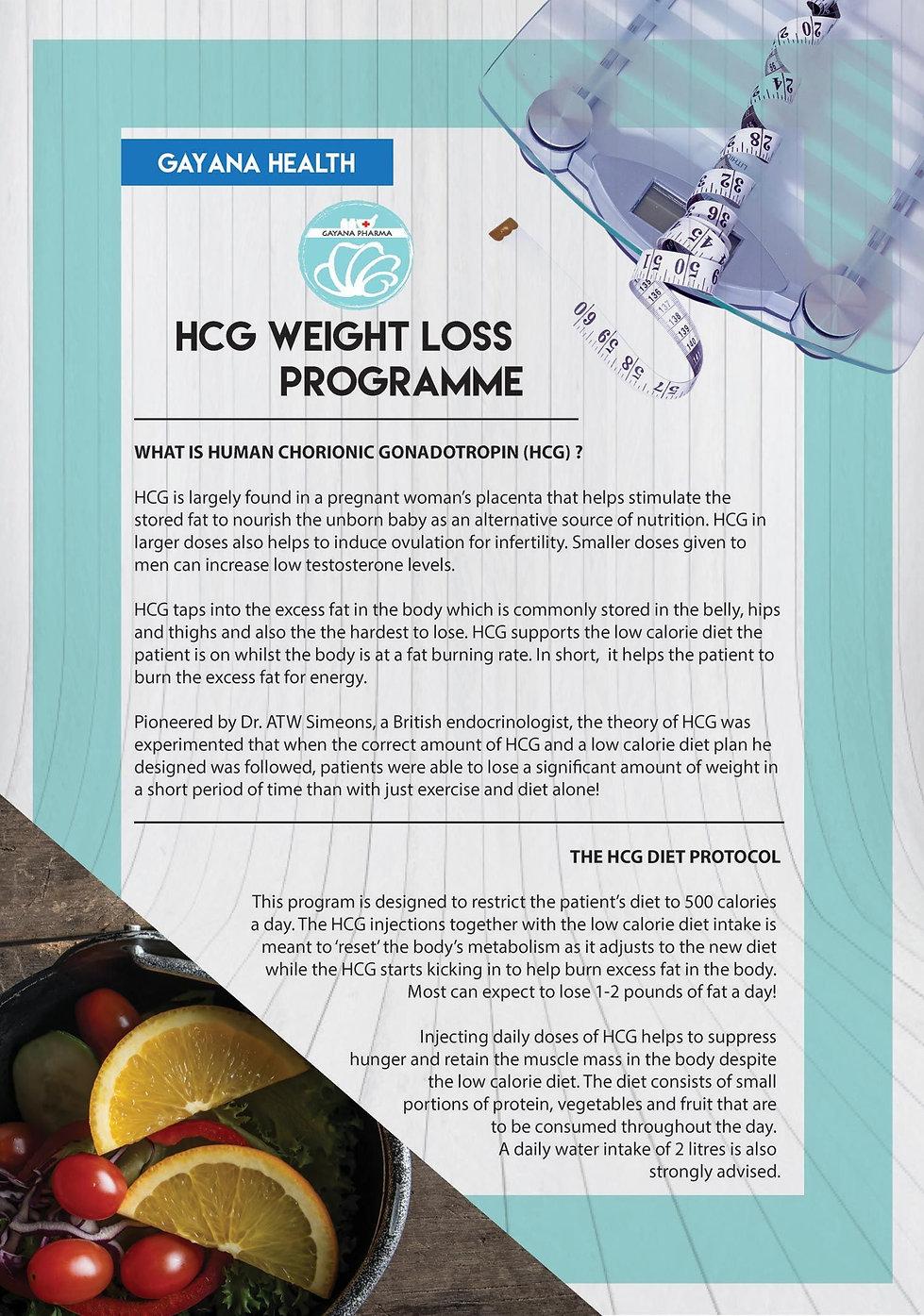 HCG Weight Loss Programme