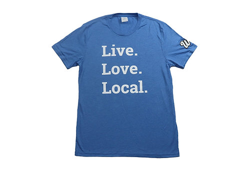 Men's Live. Love. Local Tee