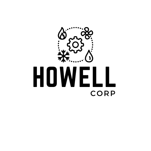HOWELL CORP LOGO WHITE BACK