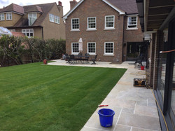 Turfing and Patio