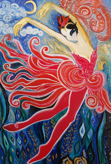 Fire Bird (Homage to S. Diaghilev's Russian Seasons)