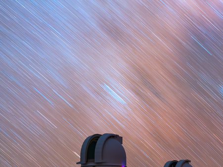 The Stars at Night in West Texas