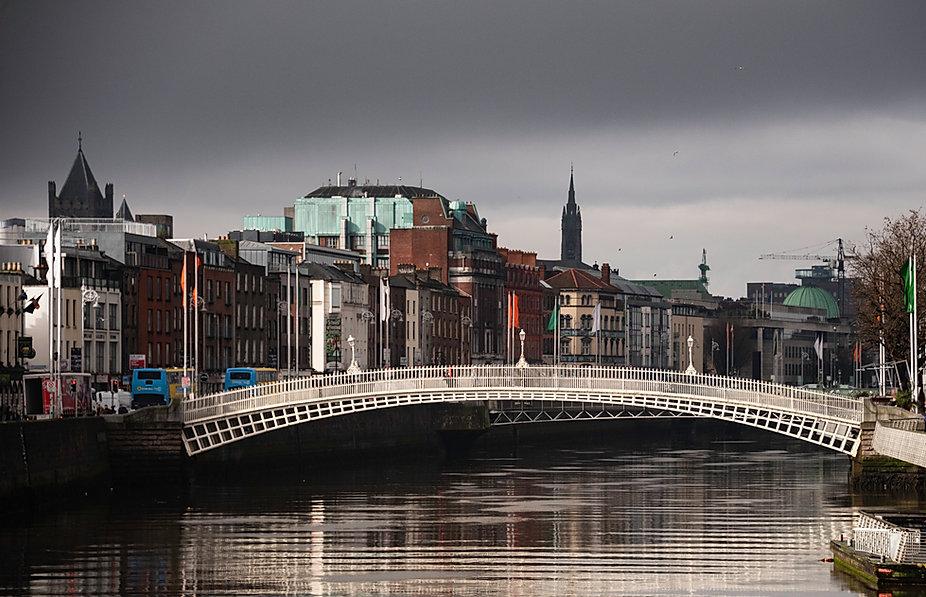 Ha' Penny Bridge - Dublin Ireland