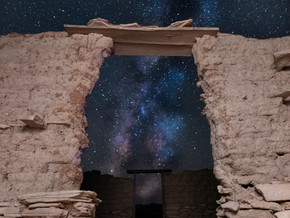 The Stars at Night are in a Ghost Town in Southwest Texas
