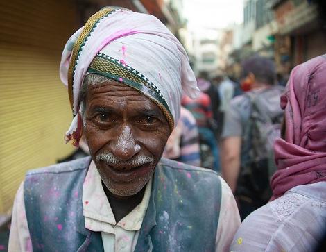 Holi Festival - Mathura, India