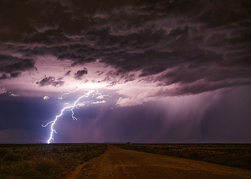 Monsoon Lightning - Logan New Mexico