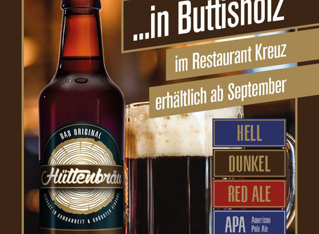Prost in Buttisholz mit Hüttenbräu