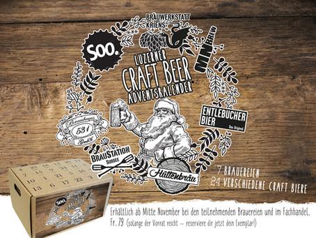 Luzerner Craft Bier-Adventskalender