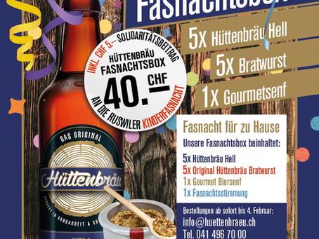 Hüttenbräu Fasnachtsbox