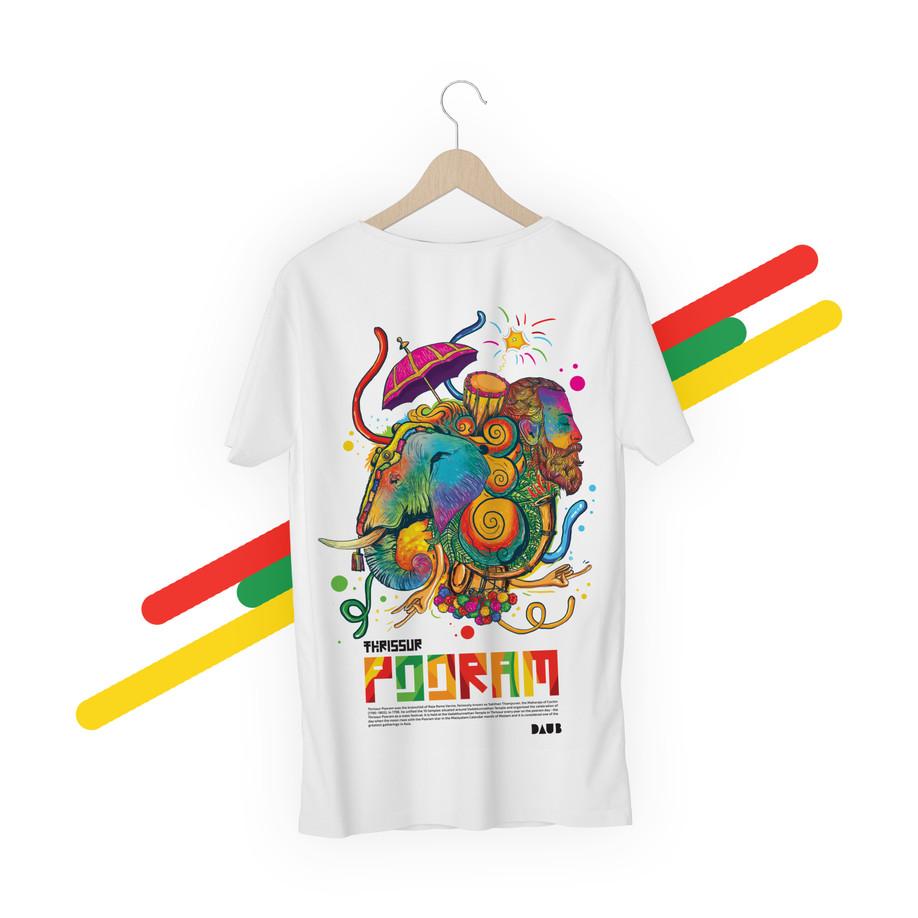Thrissur Pooram T-Shirts