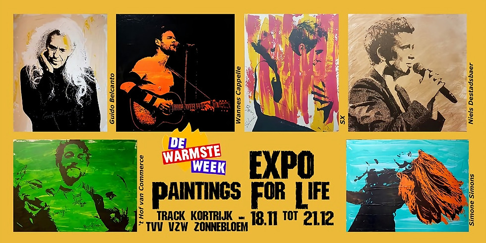 Expo Paintings For Life