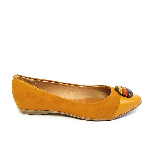 Sapatilha Color Nobuck Amarela