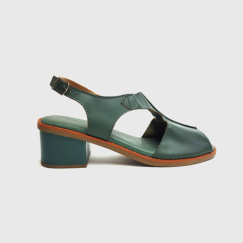 Sandália Comfy Salto Bloco