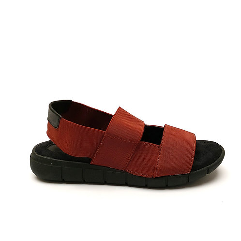 Sandália Flat Comfort elástico