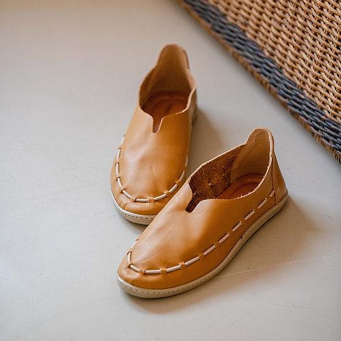 Sapato Couro com Detalhe