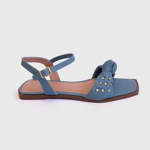 Sandália Nó Tachinhas Azul
