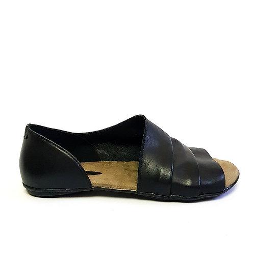 Sandália Assimétrica Preta