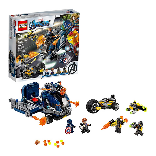 LEGO Marvel Avengers Truck Take-Down 76143 Captain America and Hawkeye