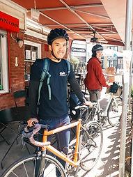 Babs on Bikes2