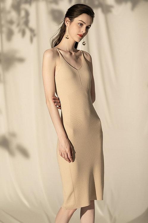Ecru Emissary | Knit Dress