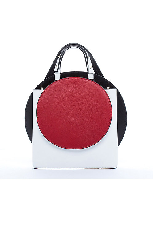 Incomplete | White Circle Bag