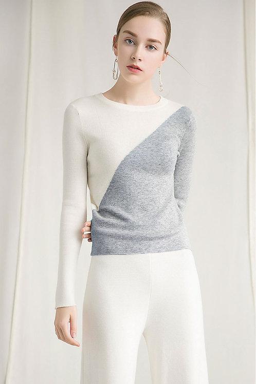 Ecru Emissary   Grey Benson Sweater