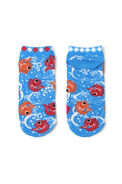 Fish Fish Fish Ankle Socks