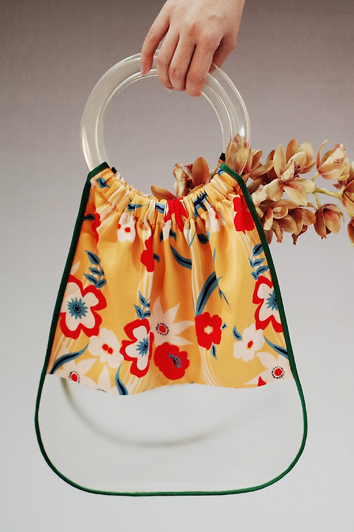 Fussed | Floral Fabric-style Handbag