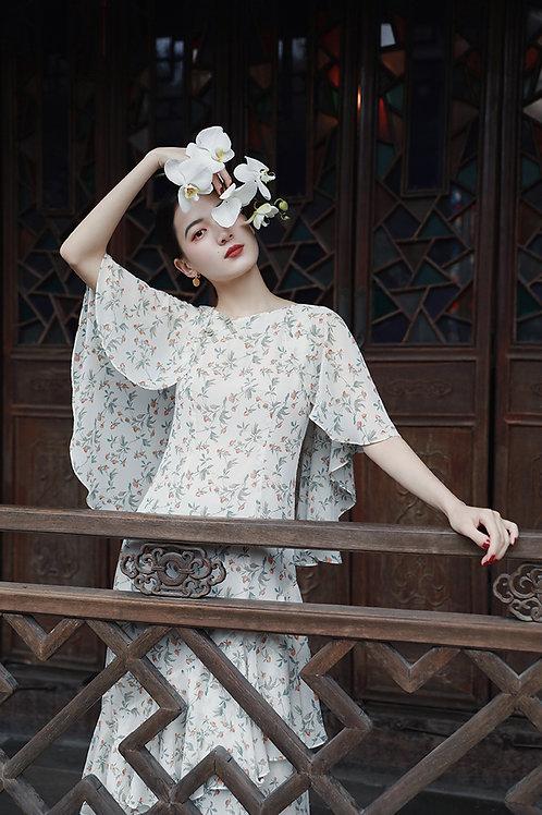 MOLIFUSU | Ruffle Hecatolite Dress