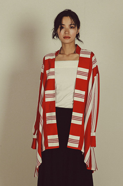 Since Then | Irregular Stripe Cardigan