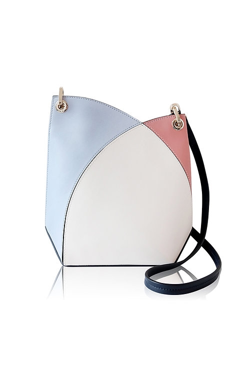 Incomplete | White Flower Bud Crossbody