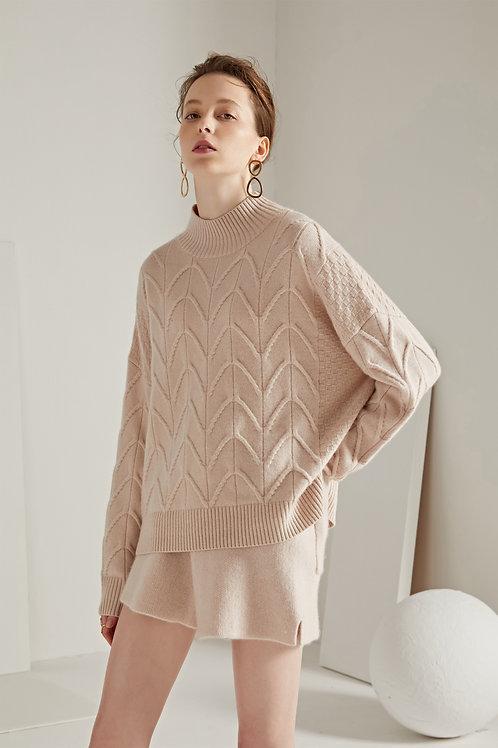 Ecru Emissary | Tree of Life Cashmere Blend Sweater