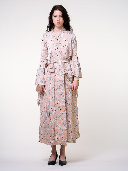 Since Then | Snow Crane Robe-Style Outerwear