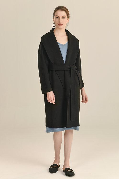 Ecru Emissary   Black Esme Coat