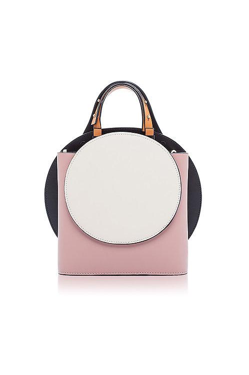 Incomplete   Pink Circle bag