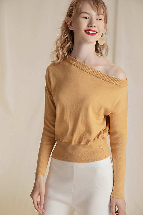 Ecru Emissary | Yellow Luna Sweater Knit