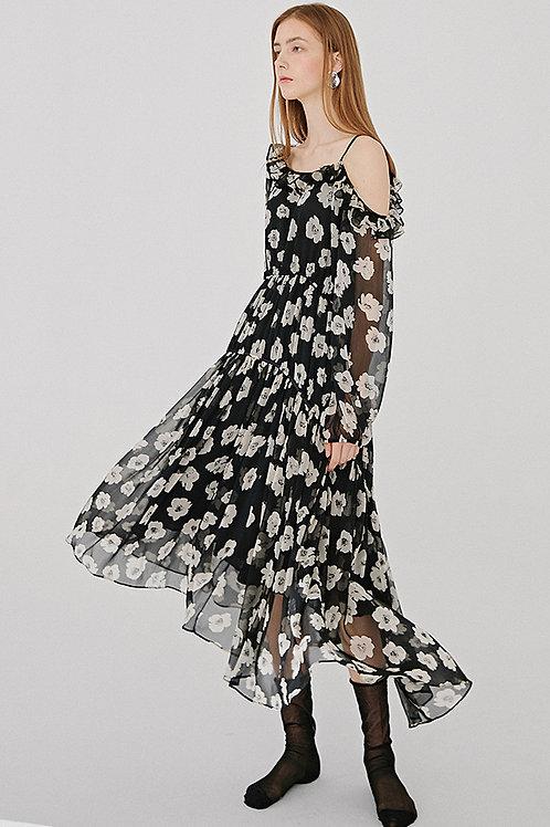 Vanessa Liu | Della Midi Dress