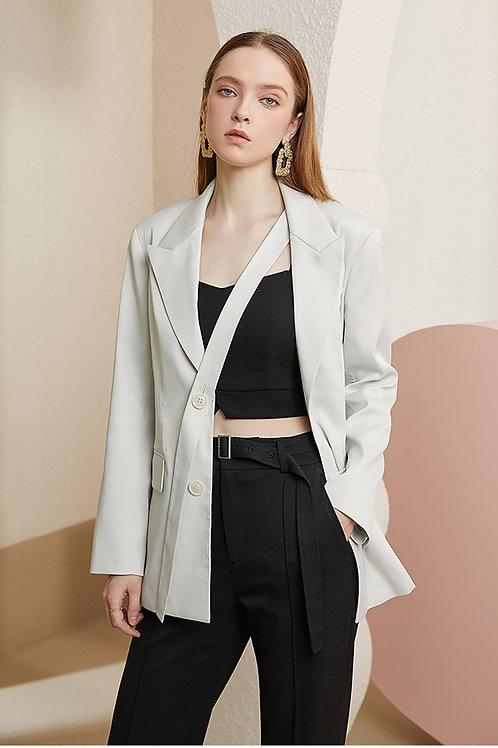 FANSILANEN | Magnolia Tie Blazer