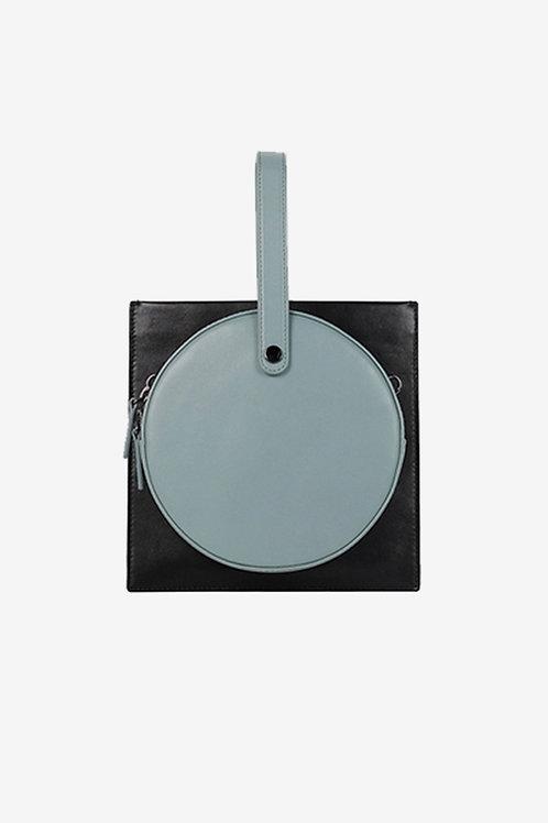 Treble_Z | Black Square Shoulder Bag