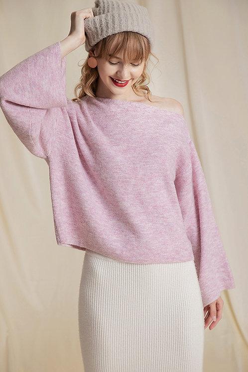 Ecru Emissary | Pink Serenity Sweater