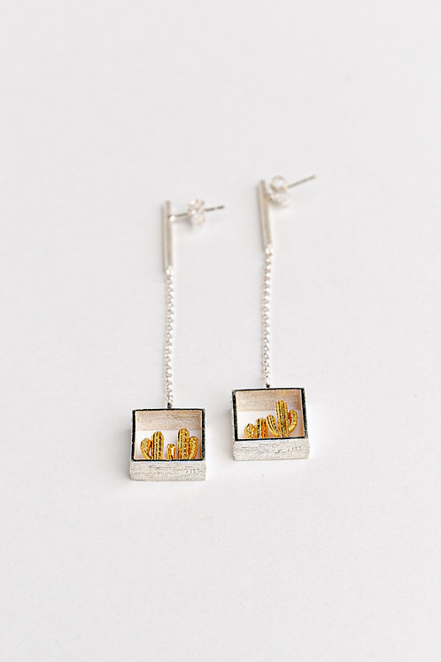 Cactus Earrings